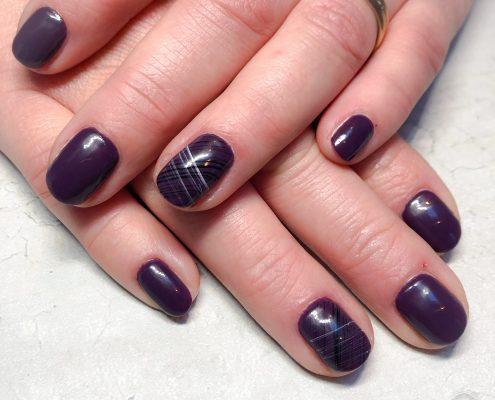 Gelpolish natuurlijke nagels icm network gel