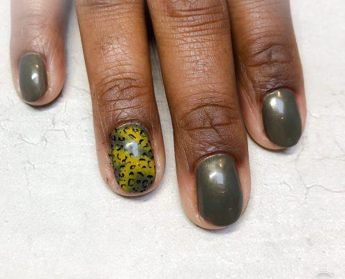Gelpolish natuurlijke nagels icm nail-art